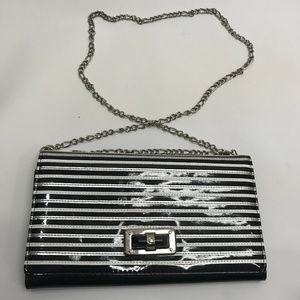 White House Black Market Handbag Clutch Bag Purse